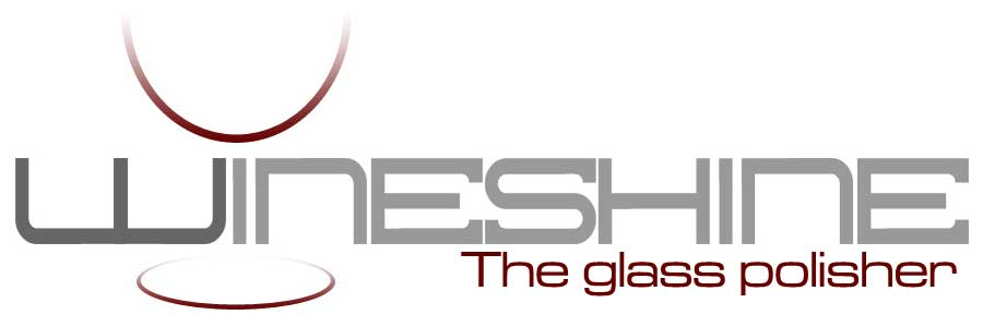 Wineshine glass polisher logo